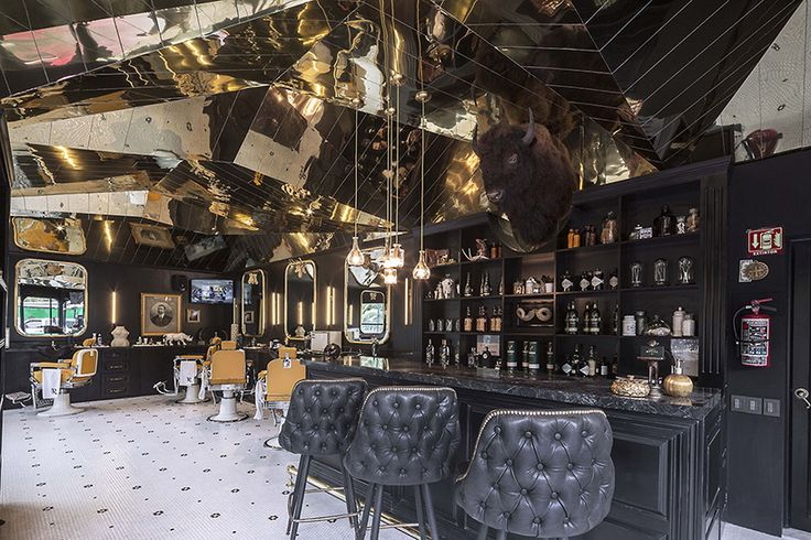 row studio barberia royal barber shop mexico city designboom