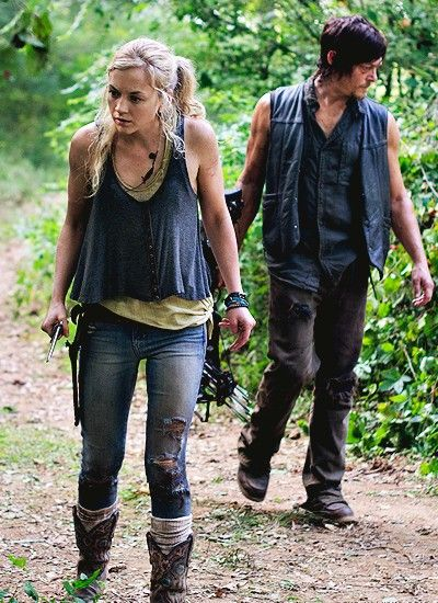 emily kinney and norman reedus - Google Search