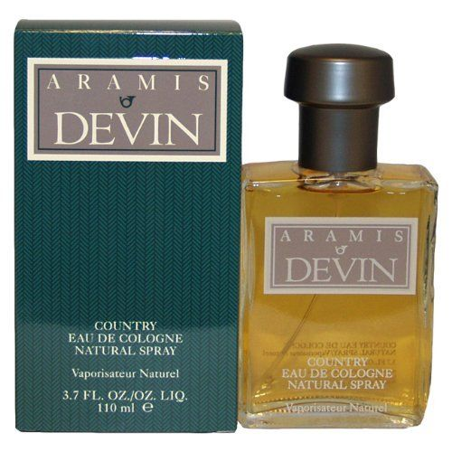 Aramis Devin By Aramis For Men. Eau De Cologne Spray 3.7 Ounces by Aramis. $63.04. Aramis Devin by Aramis for Men - 3.7 oz EDC Spray. Aramis Devin by Aramis for Men. Introduced in 1978. Fragrance notes: fresh greens with citrus and herbs mix with lower notes of rich spices, incense and amber. Recommended use: romantic.