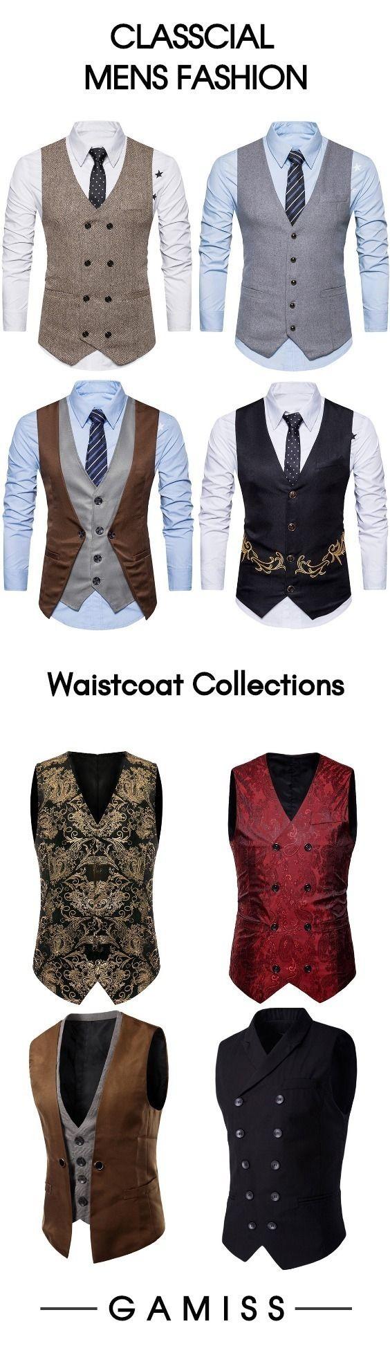 Waistcoats for men