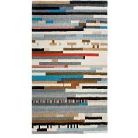 Lepark, tapete de composición 100% lana virgen. Diseño Gan Rugs.