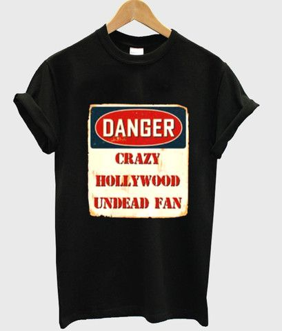 Danger crazy hollywood undead fan T shirt #tshirt #shirt #graphicshirt #funnyshirt