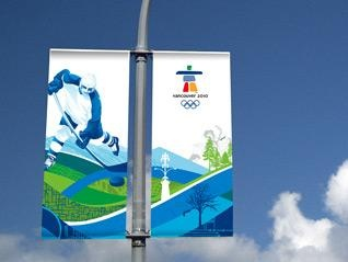 Winter Olympic Street Banners http://materialpromotions.com/