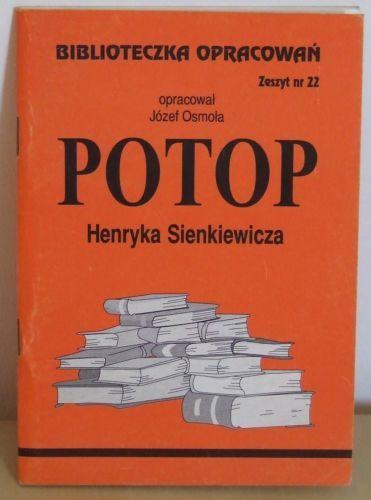Biblioteka opracowań Potop Henryk Sienkiewicz