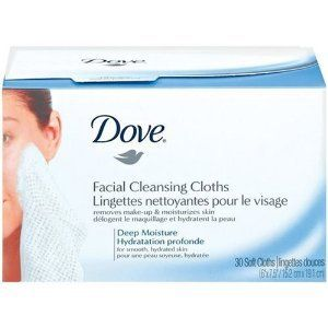 Dove Facial Cleansing Cloths 28