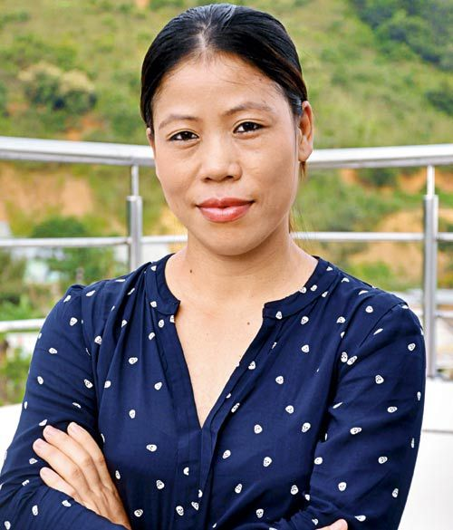 Mary Kom, Mother, boxer, Olympic bronze medalist, Indian.