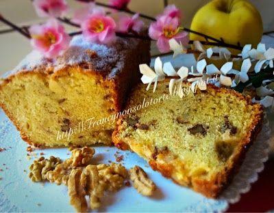 Francy non solo torte: Plumcake mele e noci