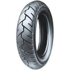Ελαστικό MICHELIN S1 100/90-10 56J TL/TT DUAL SPORT, PERFORMANCE AND RETRO SCOOTER TIRES High-quality tires proven in Europe, where scooters are a way of lifeReggae™ features massive tread blocks and an all-weather tread compound for on- or off-road use (original equipment on the Yamaha Zuma)