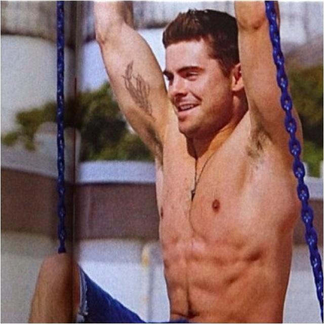 Zac Efron Half Naked 55