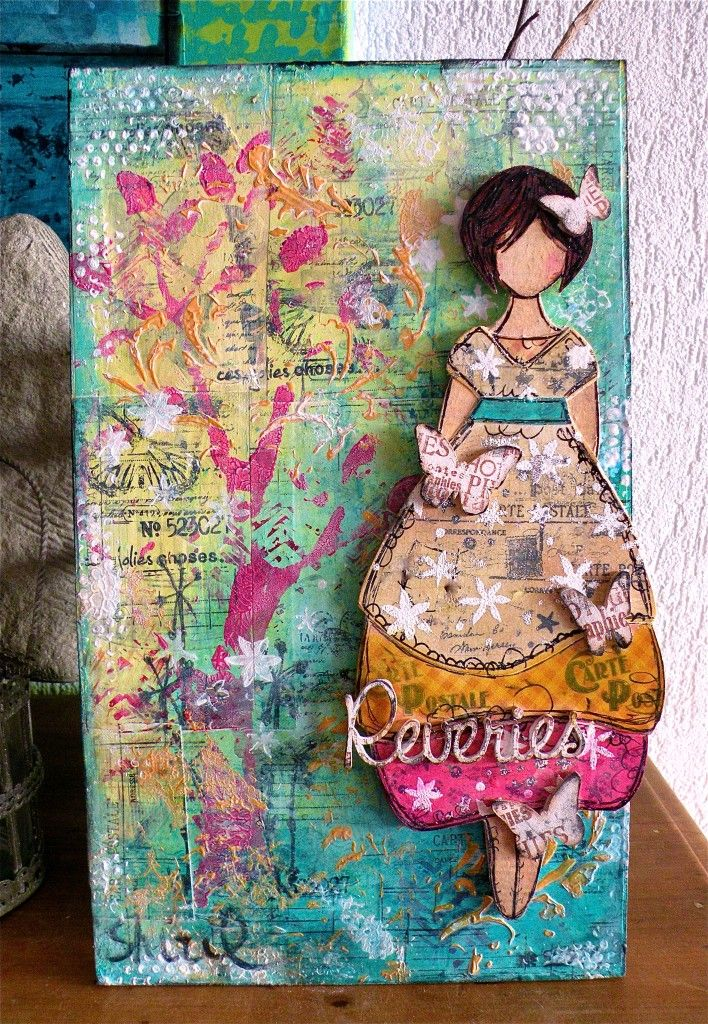 lovely mixed media piece,