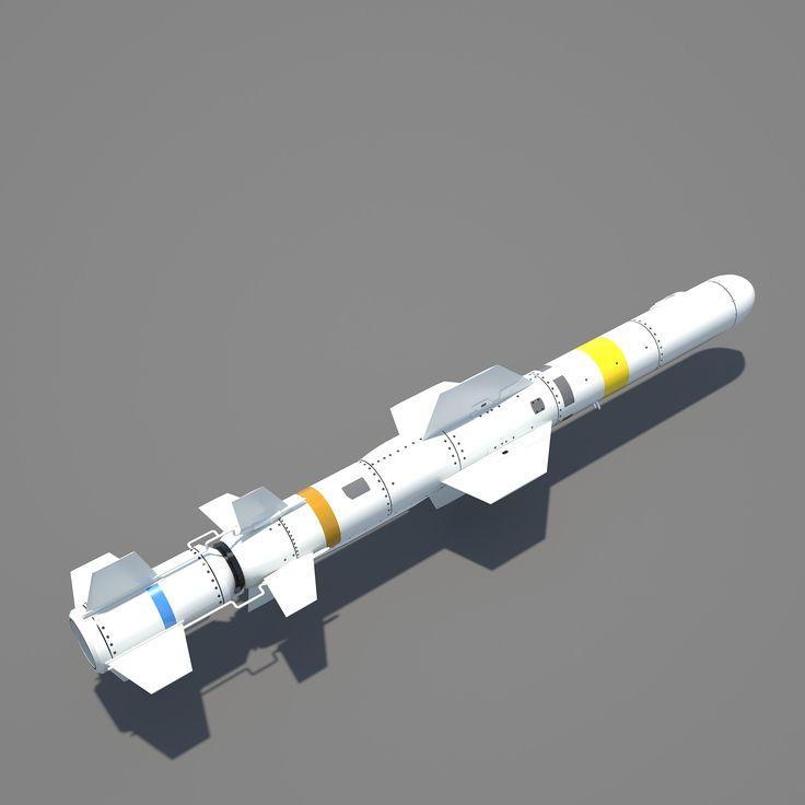 http://www.turbosquid.com/3d-models/rgm-84-harpoon-3d-model/954068 [RGM-84 Harpoon Missile]