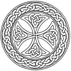 round celtic knot designs - Google Search