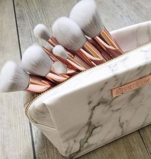these makeup brushes are beautiful! Beauty Stocking Stuffers Under $15