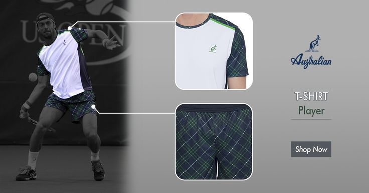 Our new #player line is the perfect match between dynamism and flexibility! Check it out! #Australian #Menswear #new #collection #2016 #Australianofficial