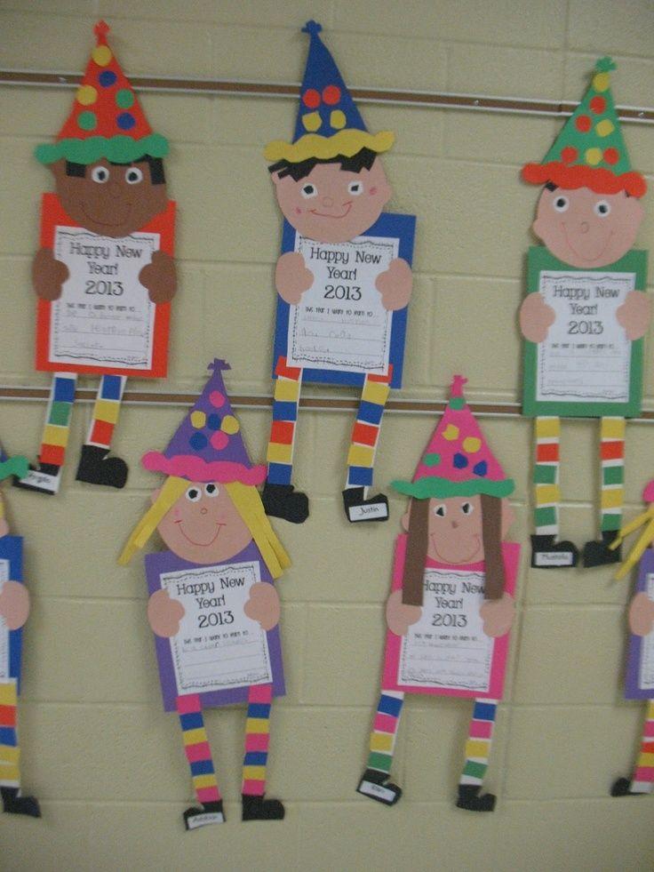 Mrs. Morrow's Kindergarten: Happy New Year!