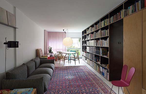 Praktikus lakberendezés - ez a 38nm-es kis lakás mérete ellenére vidám hangulatúra, világosra, komfortosra és élhetőre sikeredett.