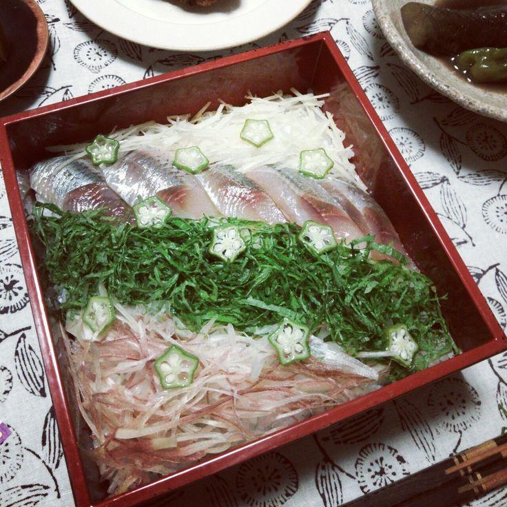 七夕 鰯のちらし寿司