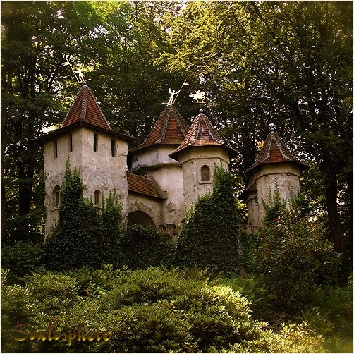 Castle In The Woods Home Style Pinterest Castles