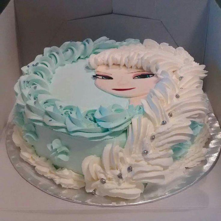 Simple Frozen- cake