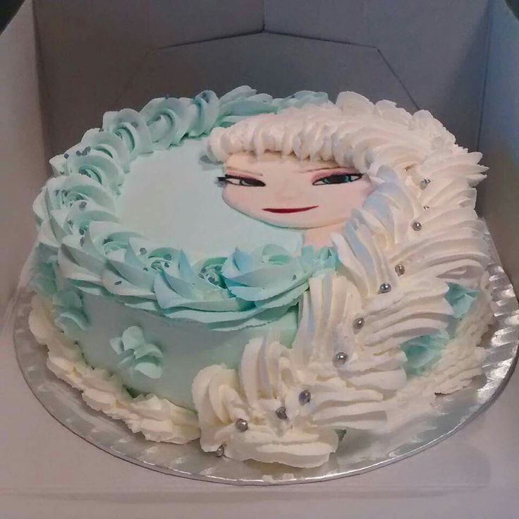 Frozen Cake Simple Design : 17 Best ideas about Simple Frozen Cake on Pinterest ...