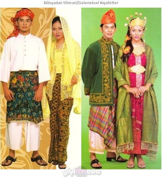 Malezya Geleneksel Kıyafetleri