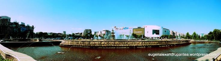 Panorama Piața Unirii