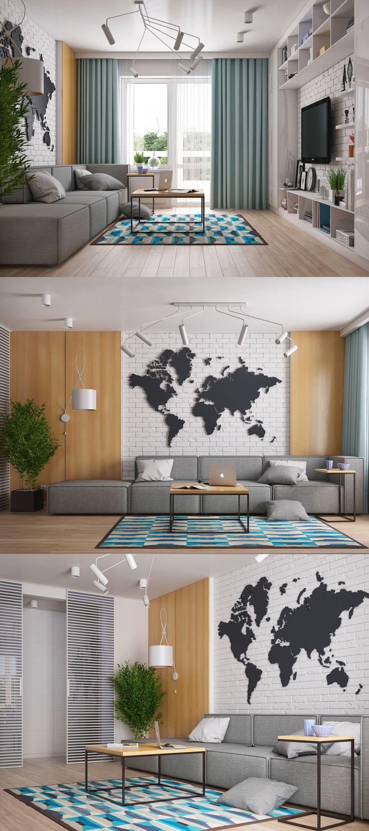 Дизайн квартиры в Ровно. - Галерея 3ddd.ru