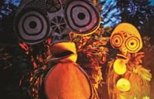 The New Britain National Mask and Warwagira Festival is an extravaganza of traditional mask cultures of PNG.  http://www.pagahillestate.com/new-britain-the-island-with-it-all-2/