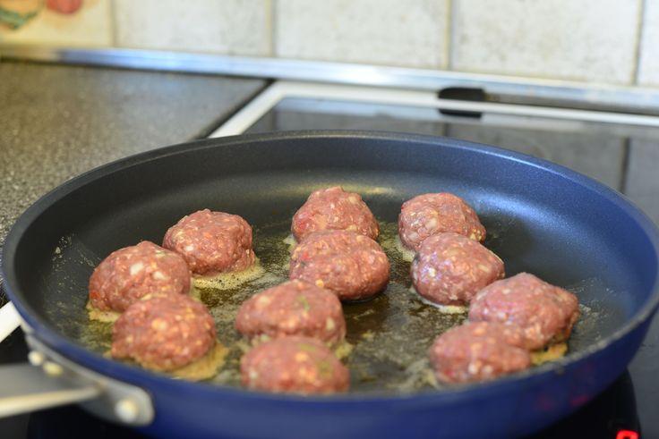 Steking av kjøttb