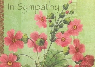 Beautiful Sympathy card - handmade appeal
