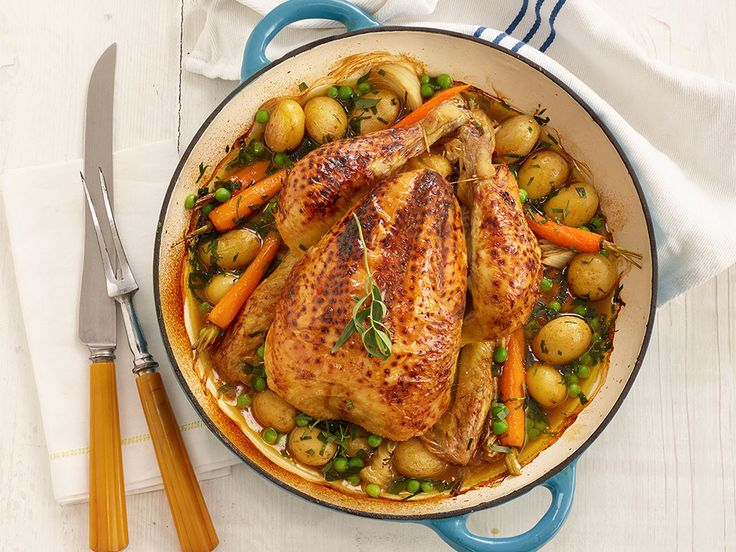 Put your feet up whilst the family prepare my easy roast recipe. So simple but utterly delicious!
