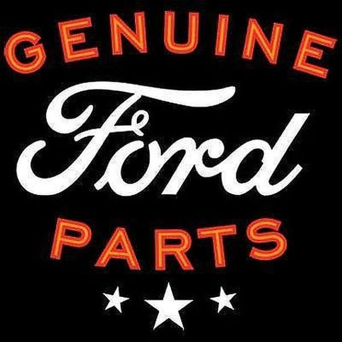 Genuine Ford Parts Sign Adult Unisex LONG SLEEVE Car T Shirt 18145E2