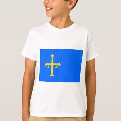 #country - #Bandera de Asturias - Flag of Asturias T-Shirt