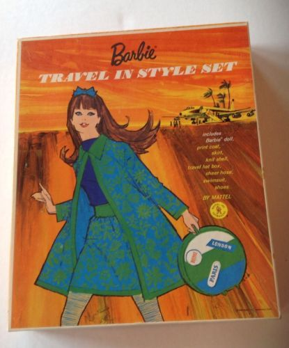 Barbie Travel-In-Style -1967 | Vintage Barbie World of Ads, Illustrations and creations ...