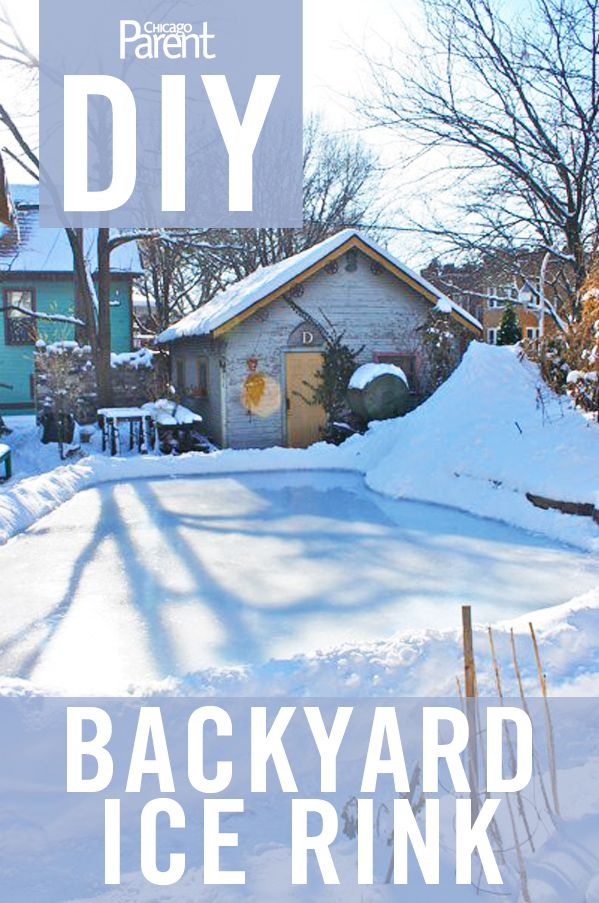 Simple steps to build your own backyard ice rink...maybe one day....first need a yard :)
