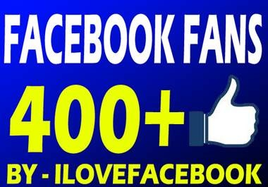 get you 400+ facebook fans, likes within 48 hrs big1