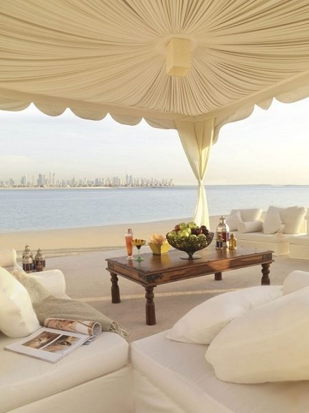 Atlantis, the Palm is a hotel resort at the man-made island of Palm Jumeirah in Dubai, United Arab Emirates.