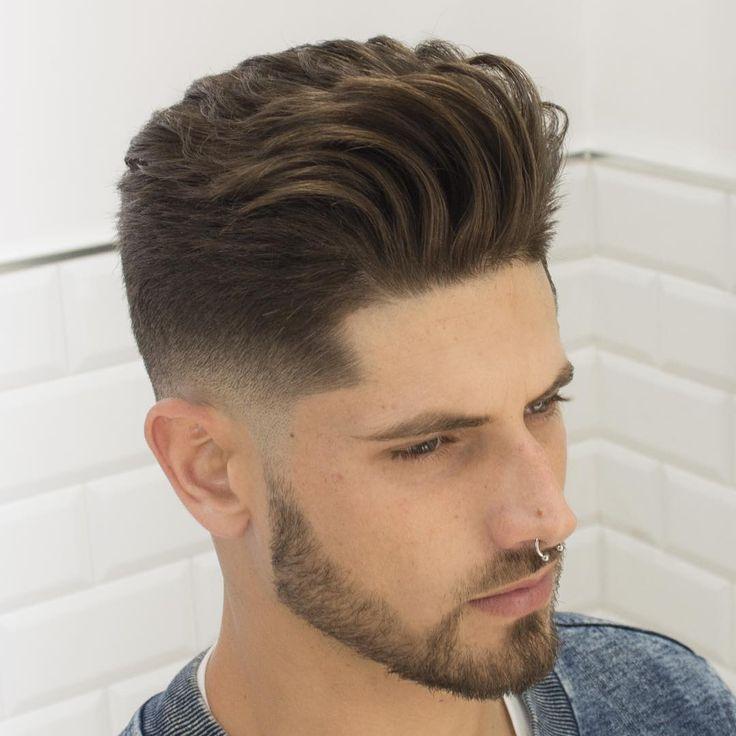 Haircut by javi_thebarber_ http://ift.tt/1Ui7ATq #menshair #menshairstyles…