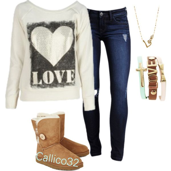 Tan Ugg Boots Outfit