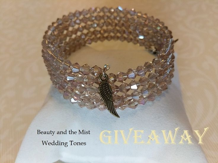 Isthe hot weather getting on your nerves? Maybe a little gift would make you feel better? I have prepared a little giveaway open internationally. I chose this handmade crystal wrap bracelet from W…