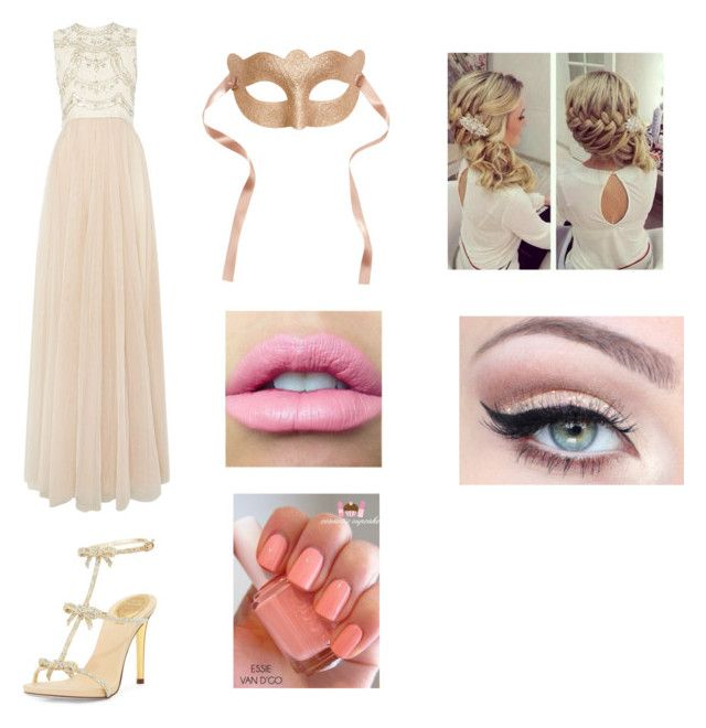 """""""Masquerade Outfit"""" by musicweirdo16 ❤ liked on Polyvore"""