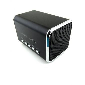 Music Angel qui jouent de la musique directement à travers la carte SD. Amplificateur haut-parleur USB, ce qui est excellent dans le regard, la meilleure qualité, excellente sortie de son portable, peu encombrant. Amplificateur intégré pour vos besoins spécifiques de son, peut également être utilisé comme haut-parleur de l\'amplificateur externe pour les appareils numériques, il suffit de se connecter à votre ordinateur portable, PC, MP3, MP4 & Mobiles…
