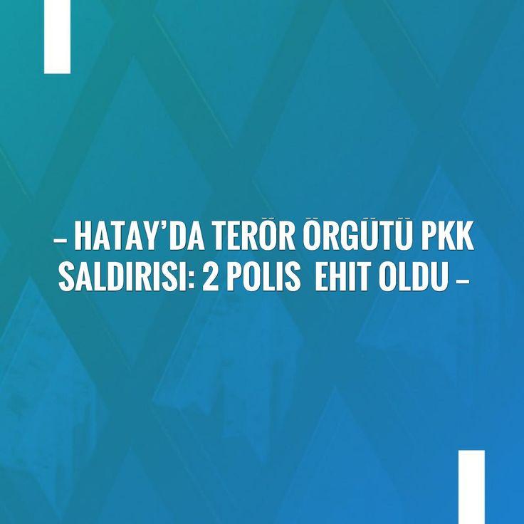 Take a look at my blogpost, folks👇 Hatay'da terör örgütü PKK saldırısı: 2 polis şehit oldu http://eftforum.tk/hatayda-teror-orgutu-pkk-saldirisi-2-polis-sehit-oldu/?utm_campaign=crowdfire&utm_content=crowdfire&utm_medium=social&utm_source=pinterest