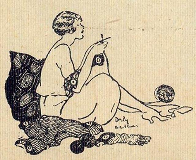 One Sheepish Girl   Knitting Inspiration – In Black & White