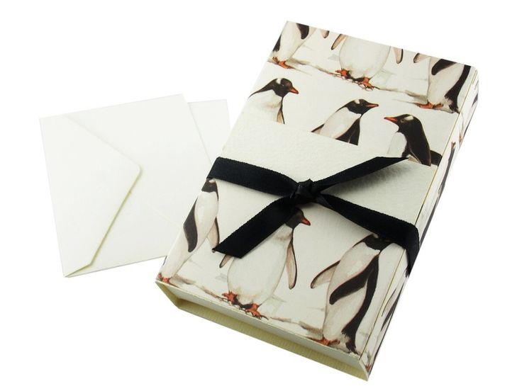 Wrapping Paper & Co. – Penguins Theme Paper Jewelry Gift Box  – a unique product by DressYourGift on DaWanda