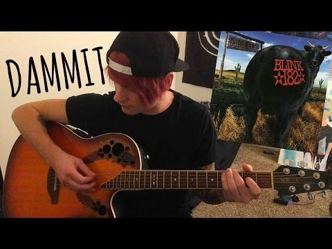 dammit / blink-182 / acoustic cover