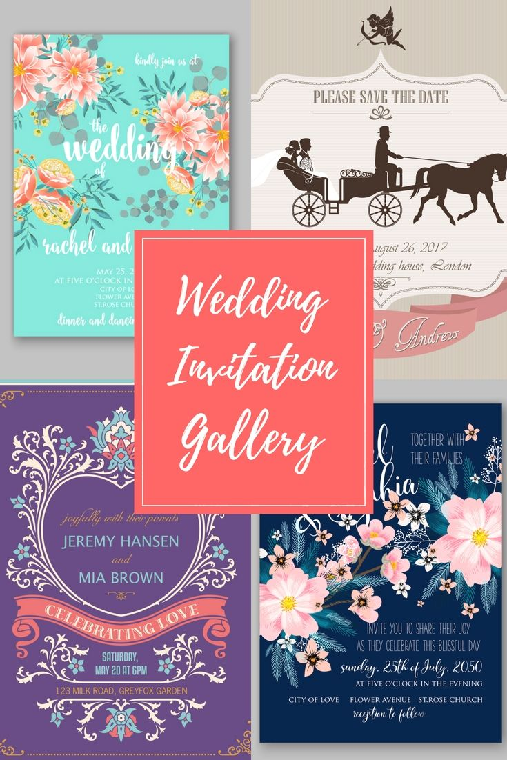 Cost-free Wedding Invitation Cards Examples - Begin To Preparing ...