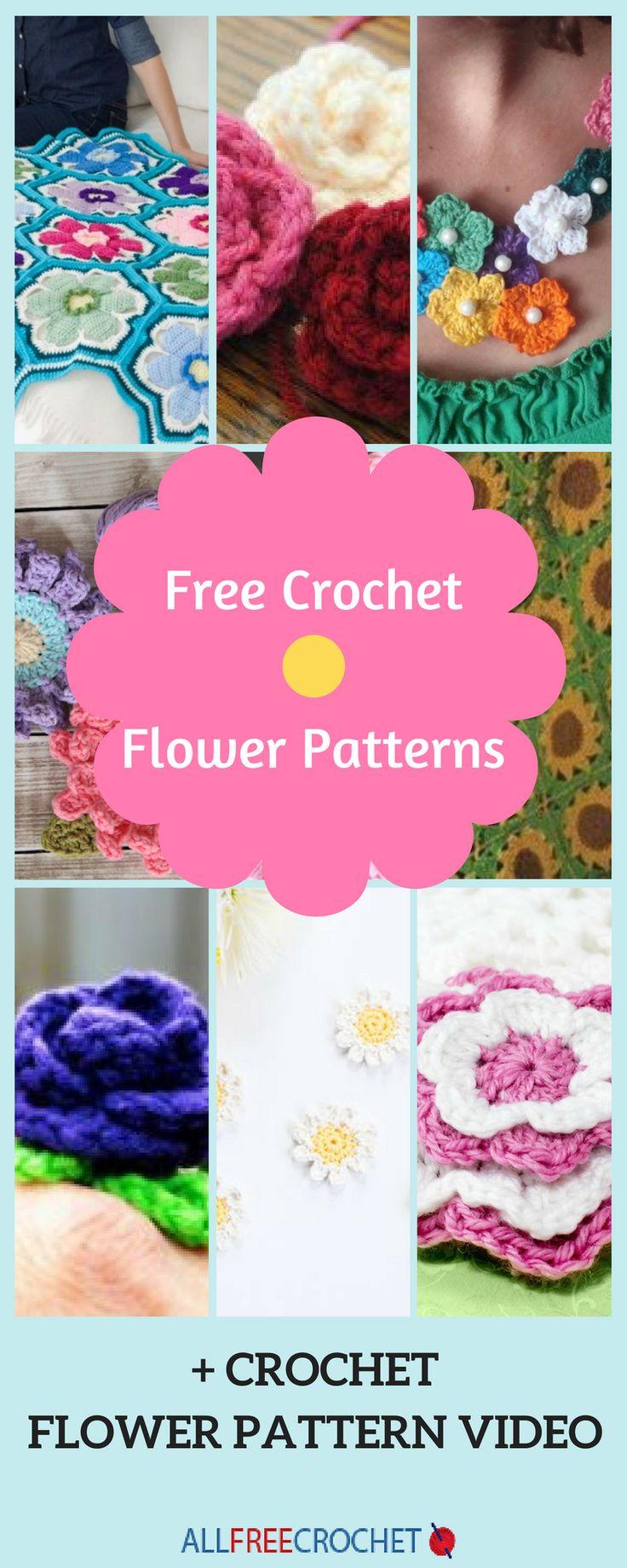 154 besten crochet flowers Bilder auf Pinterest | Stricken und ...