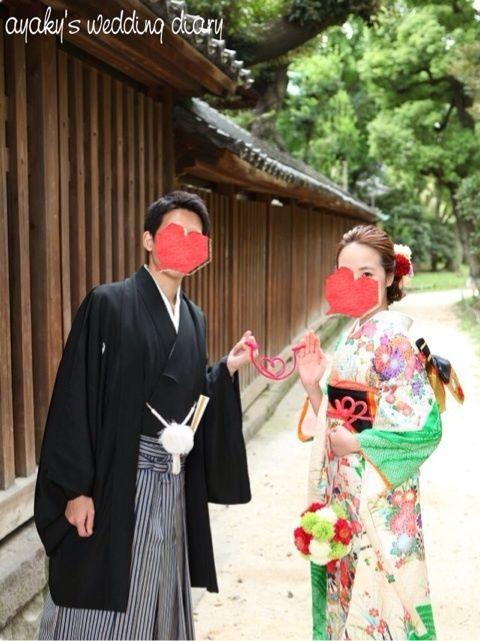 和装前撮り【振袖編】 |ayaky's wedding diary♡