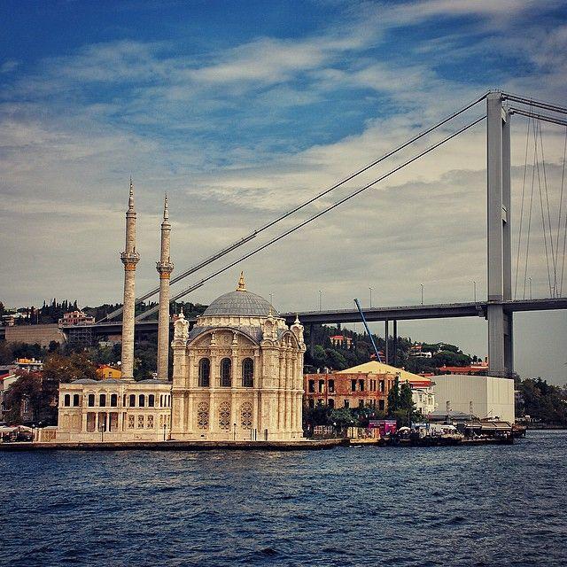 ORTAKÖY CAMİİ - ISTANBUL Ortaköy Beşiktaş Büyük Mecidiye Camii